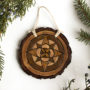 Wood Burned Ornaments