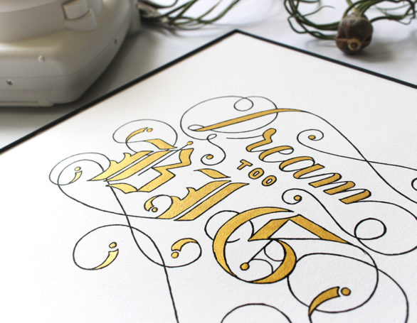 Calligraphy + Lettering
