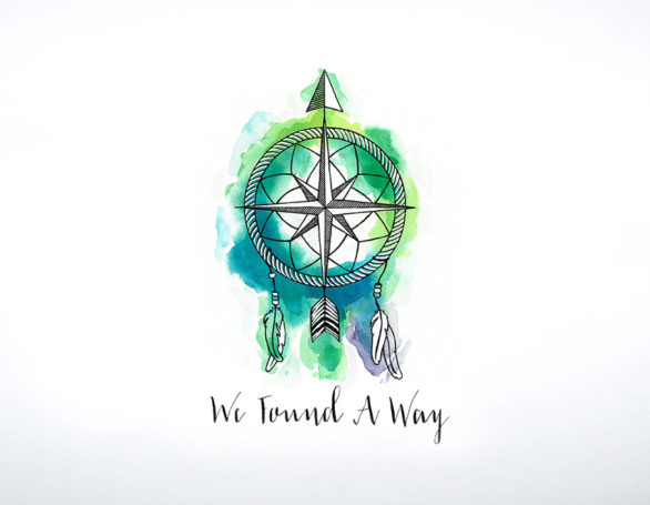 We Found A Way | Logo